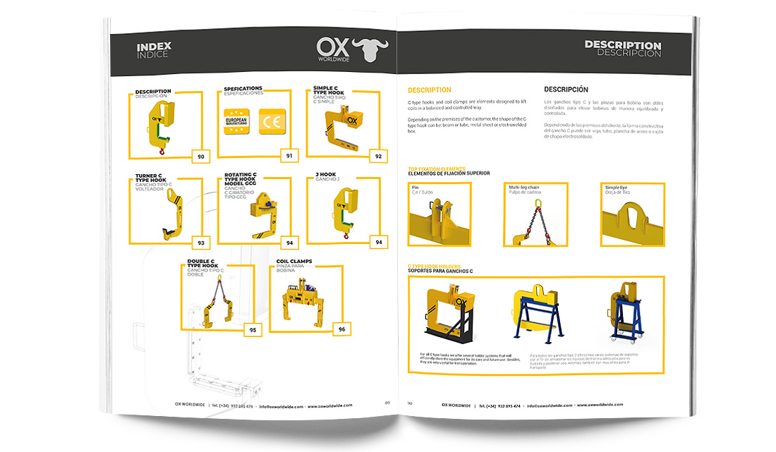 Heavy lifting equipment catalog 6