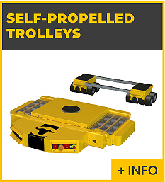 heavy lifting equipment - Self-propelled trolleys Ox Worldwide