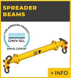 heavy lifting equipment - spreader beams Ox Worldwide