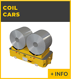 heavy lifting equipment - coil car Ox Worldwide