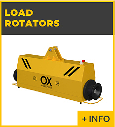 heavy lifting equipment - load rotators Ox Worldwide