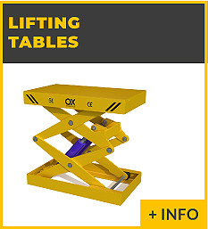 heavy lifting equipment - hidrahulic lifting tablet Ox Worldwide