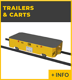 heavy lifting equipment - transfer car Ox Worldwide