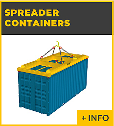 heavy lifting equipment - spreader containers Ox Worldwide