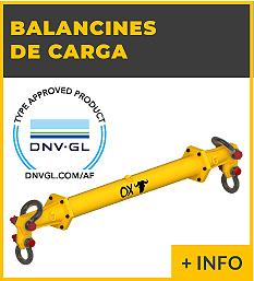 Equipos de elevacion y transporte de cargas - balancicnes de carga - Ox Worldwide
