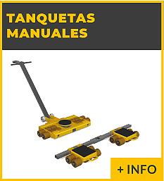 Equipos de elevacion y transporte de cargas - tanquetas manuales - Ox Worldwide