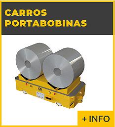 Equipos de elevacion y transporte de cargas - carro portabobinas - Ox Worldwide