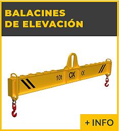 Equipos de elevacion y transporte de cargas Ox Worldwide - balancin de elevacion