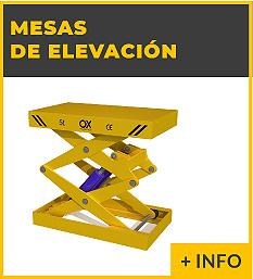 Equipos de elevacion y transporte de cargas - mesa elevadorea hidraulica - Ox Worldwide