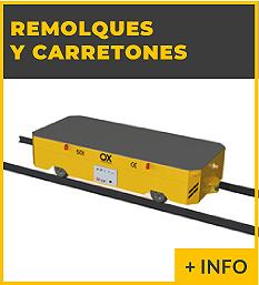 Equipos de elevacion y transporte de cargas - carros motorizados - Ox Worldwide