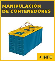 Equipos de elevacion y transporte de cargas - spreader para contenedores - Ox Worldwide