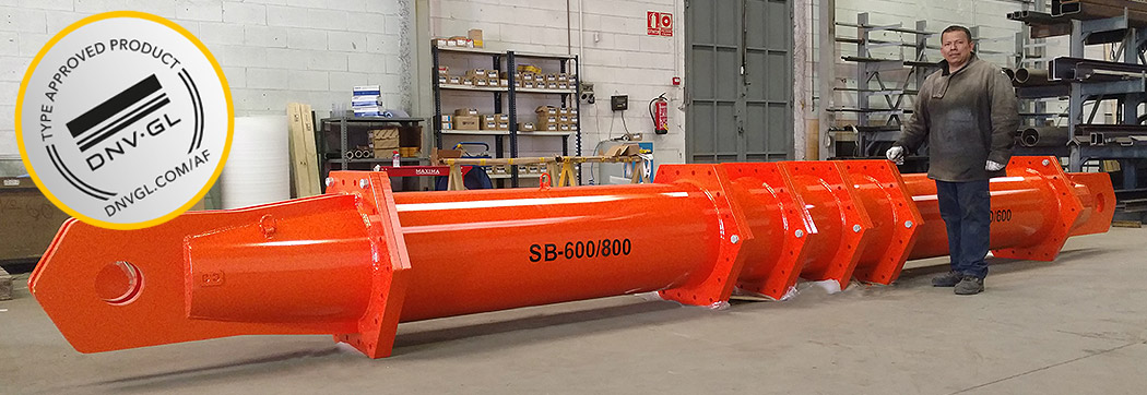 spreader beam Ox Worldwide  Capacity of 9 to 1350 tons of load