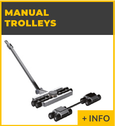 heavy lifting equipment - Manual trolleys Ox Worldwide