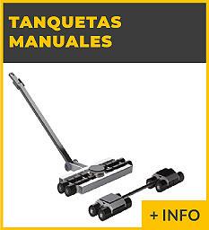 Equipos de elevacion y transporte de cargas Ox Worldwide - Tanquetas manuales