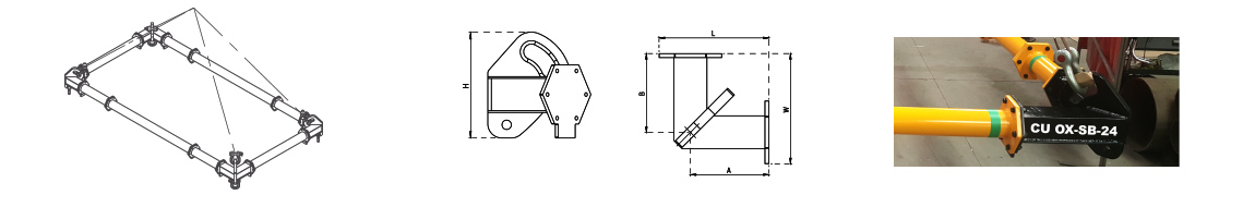 Spreader beam - corner beam - Ox Worldwide