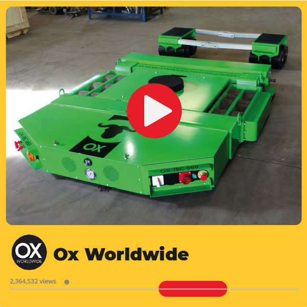 Tanquetas motorizadas Ox Worldwide. Imagen destacada