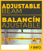 lifting beam adjustable