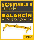 Balancin de elevacion H ajustable