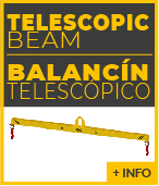 telescopic lifting beam