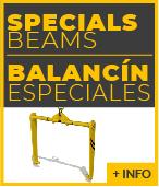 Balancines de elevacion especiales