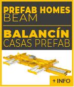 Balancin de elevacion casas prefabricadas