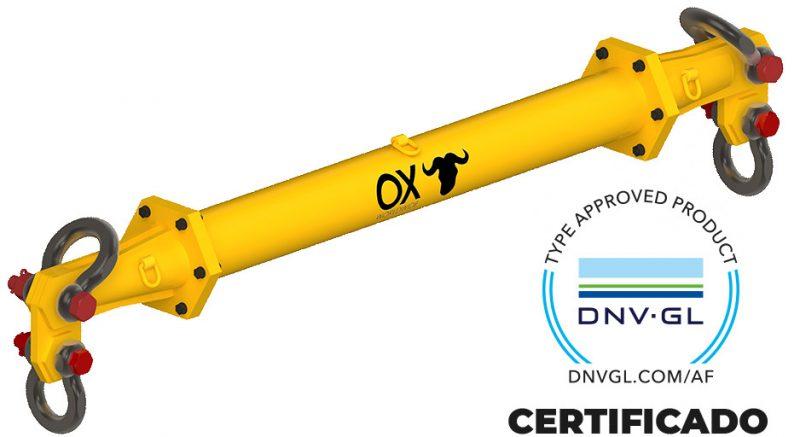 balancin de carga certificado por DNV