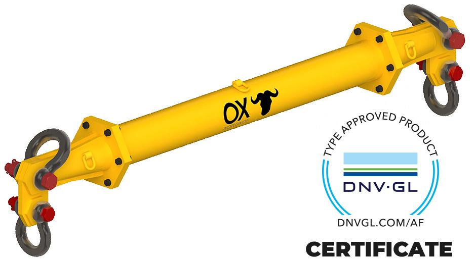 spreader beam DNV certificate