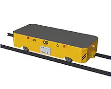 Equipos de elevacion y transporte de cargas Ox Worldwide - Carros motorizados industriales