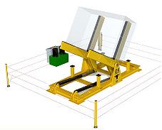 Equipos de elevacion y transporte de cargas Ox Worldwide - Volteador industrial