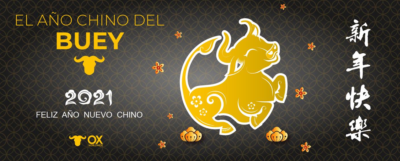 año chino del Buey