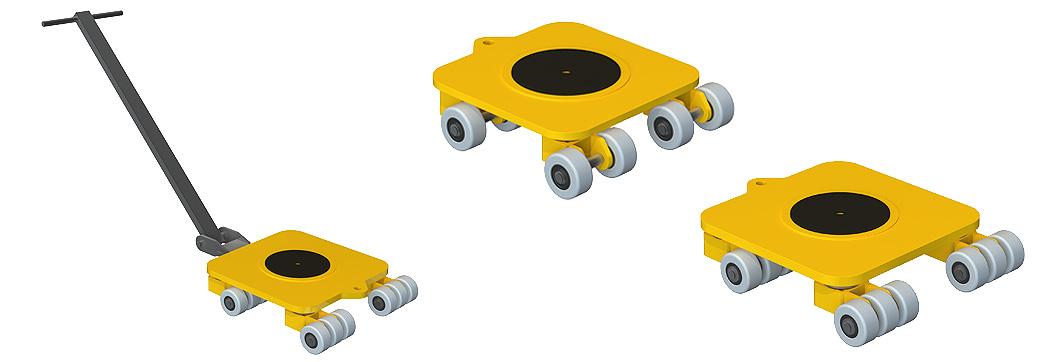 tanquetas de carga giratorias Ox Worldwide