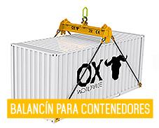 Equipos de elevacion y transporte de cargas Ox Worldwide - spreader container