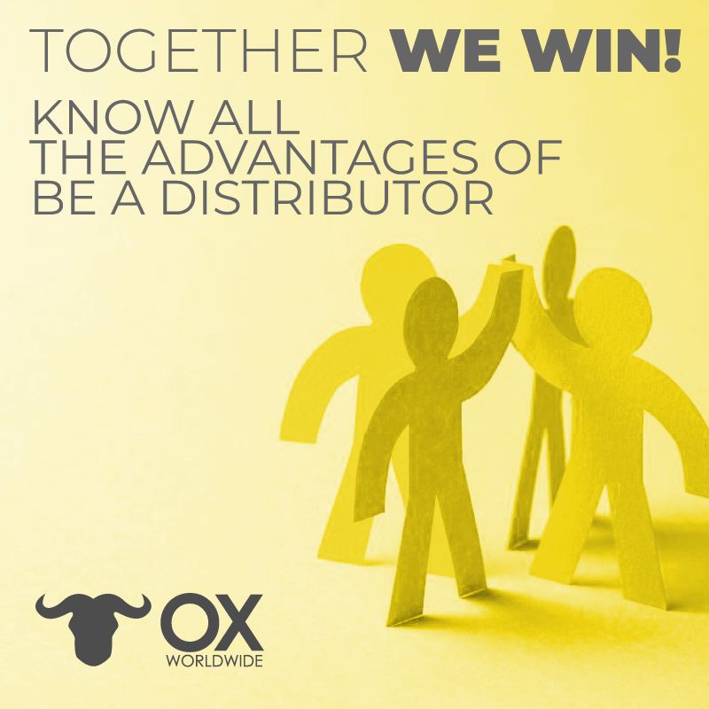 Become a Distributor Ox Wolrdwide