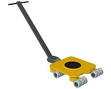 heavy lifting equipment - Rotating trnsport trolleys Ox Worldwide
